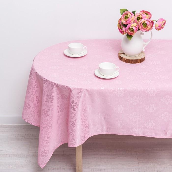 "Скатерть ""Розовый фламинго"" 140х140 см, принт МИКС"