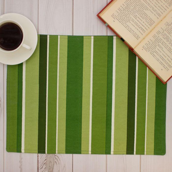"""Салфетка на стол """"Зелень"""" 30х40 см, текстиль"""