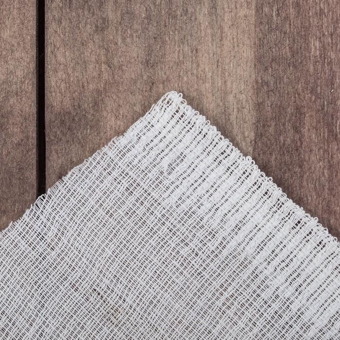 Полотенце вафельное отбеленное 40х40  см, 10шт, 100гр/м, хлопок 100%