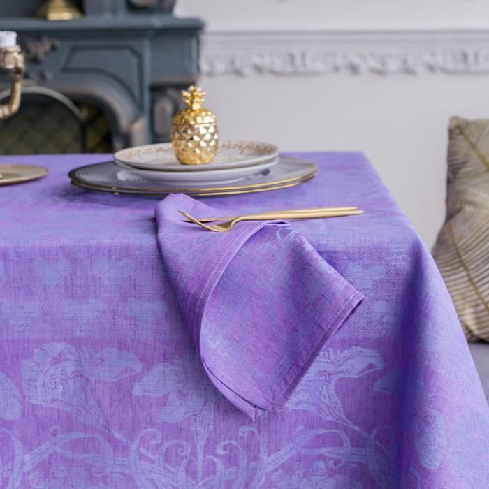 Набор салфеток на стол «Стефани», Этель: Лён, 30 × 30 ± 3 см, 4 шт., 100 % лён