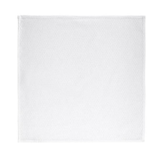 Салфетка АДРИНЕ, размер 45 × 45 см - 2 шт, цвет белый