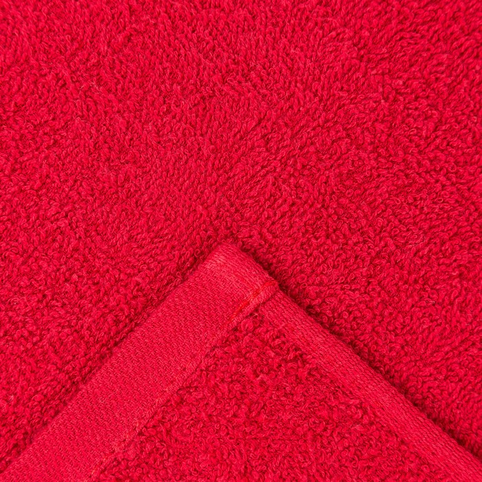 Полотенце Ocean 30х30 см, красный, хлопок 100%, 360 г/м2