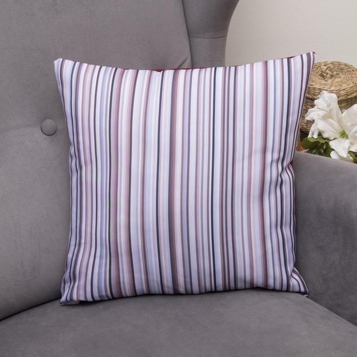 Подушка декоративная Тефи, 40х40см, габардин, синтетич. волокно, 160 гр/м