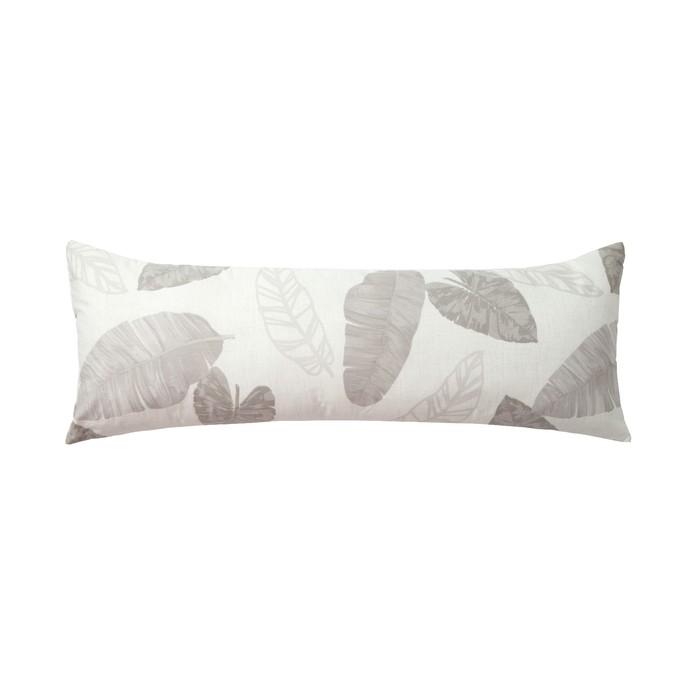 Подушка декоративная Этель «Тропики» 30×80 ± 3 см, цвет белый, сатин, 100% хлопок