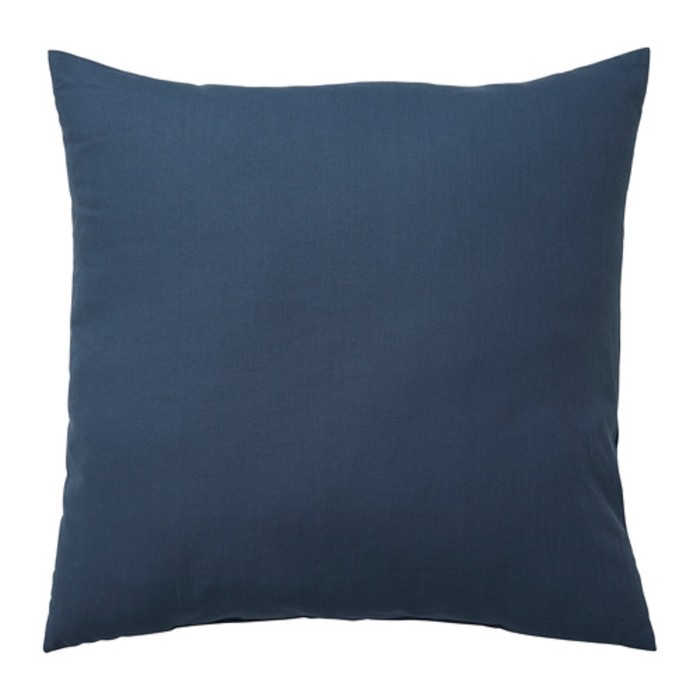 Подушка декоративная ВАЛЬБЬЁРГ, размер 50х50 см, цвет тёмно-синий
