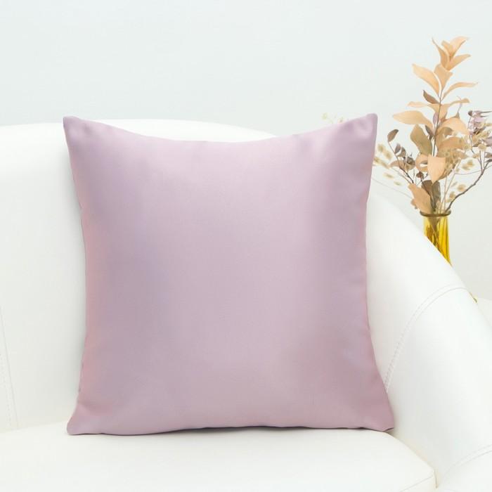 """Подушка декоративная Этель """"Classic"""" цвет Розовое золото, 40×40 см, пл. 240 г/м², 100 п/э"""