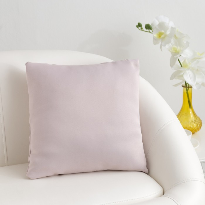 Подушка декоративная «Этель» «Classic» цвет розовый металл, 40×40 см, пл. 210 г/м², 100% п/э