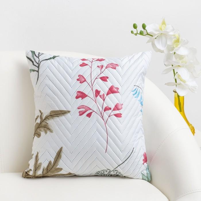 Подушка декоративная Экономь и Я «Листва» 40×40 см, 100% полиэстер