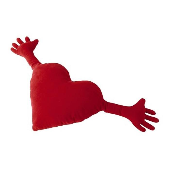 Подушка декоративная ФАМНИГ ЙЭРТА, размер 40х101 см, цвет красный