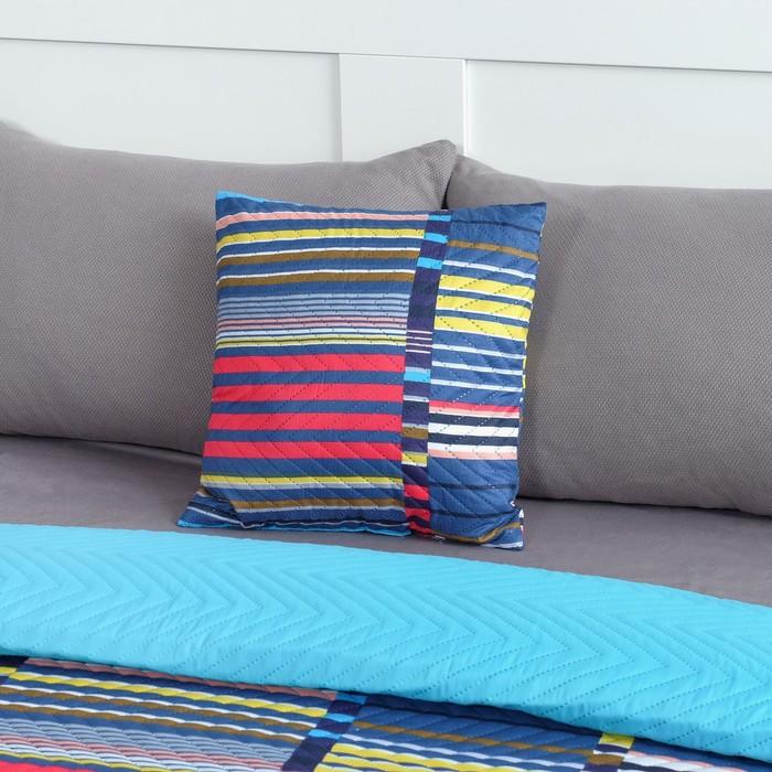 Подушка декоративная Экономь и Я «Геометрия» 40×40 см, 100% полиэстер