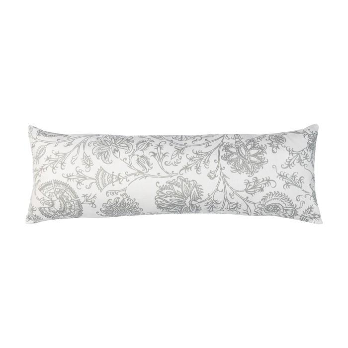 Подушка декоративная прямоугольная «Белое золото», размер 25 × 70 см