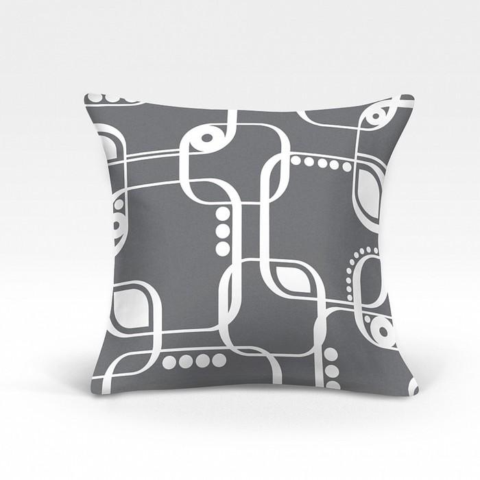 Подушка декоративная «Кларк-О», размер 45х45 см