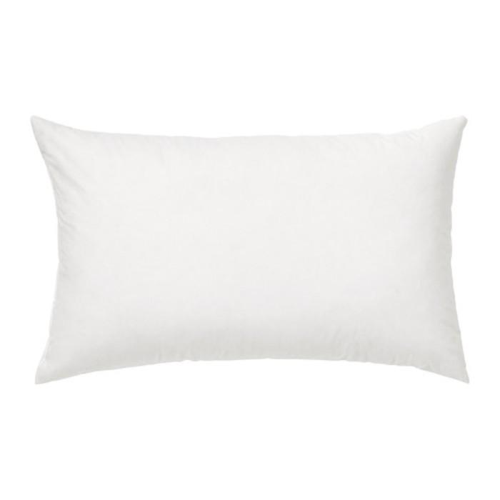 Подушка ФЬЕДРАР, размер 40х65 см, цвет белый
