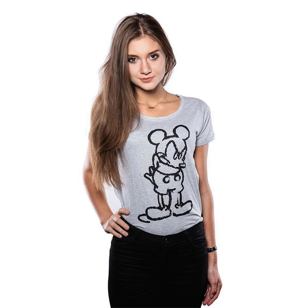 Футболка Good Loot Disney Angry Mickey, размер 38-40 (XS)