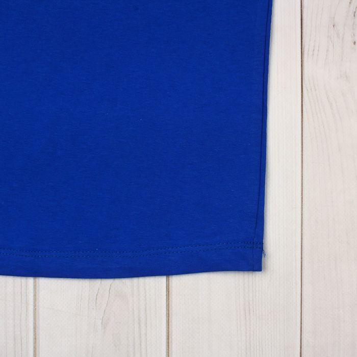 Футболка детская, рост 92 см (2 года), цвет василёк Н004