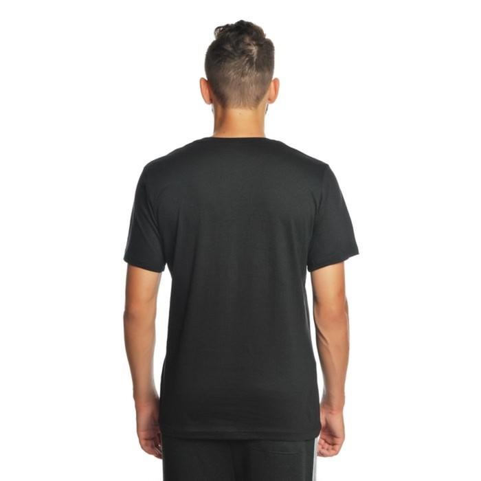 Футболка мужская однотонная цвет черный, р-р 54