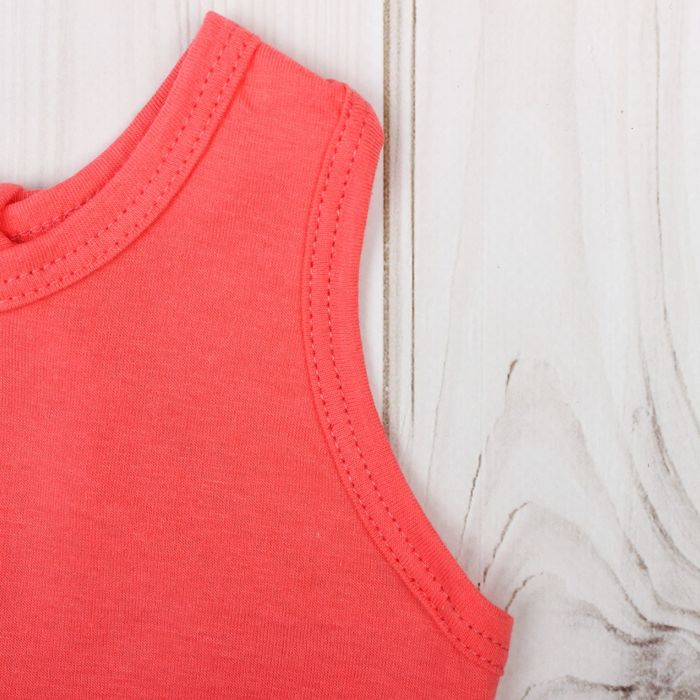 """Майка для девочки """"Мария"""", рост 158-164 см, цвет коралловый 1052"""