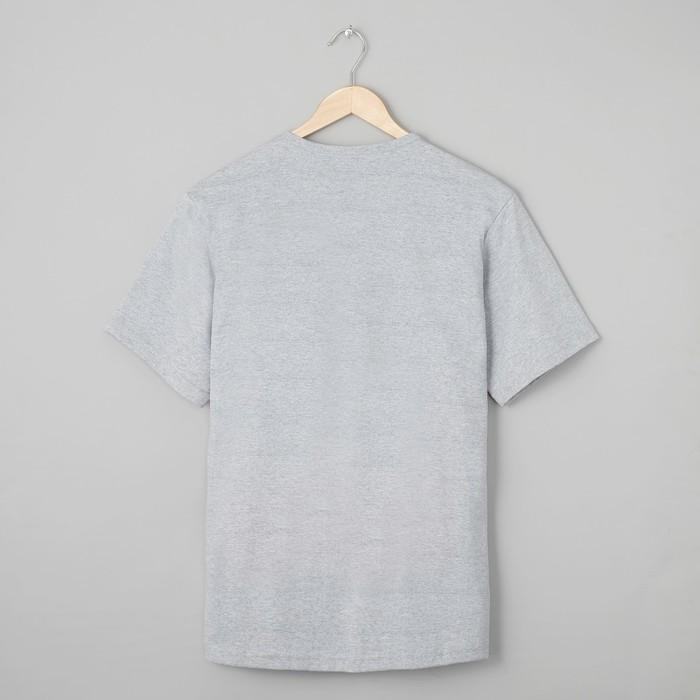 Футболка мужская БК-136 цвет серый, р-р 68