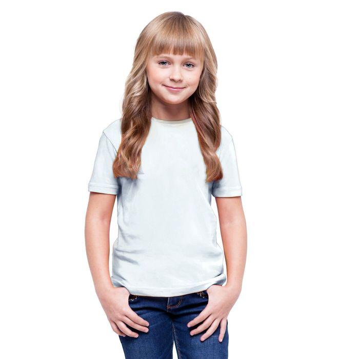 Футболка детская StanClass, рост 164 см, цвет белый 140 г/м