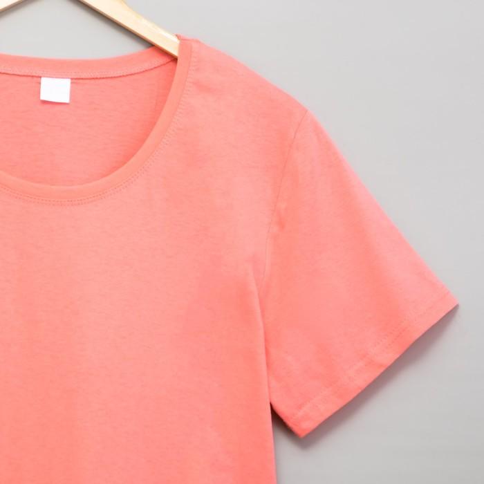 Футболка женская цвет розовый, р-р 50