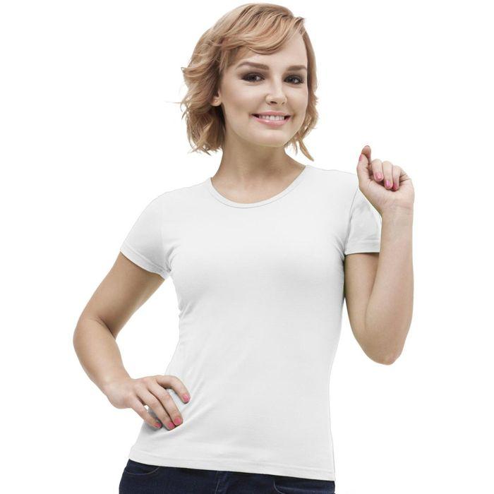 Футболка женская StanGalant, размер 46, цвет белый 150 г/м
