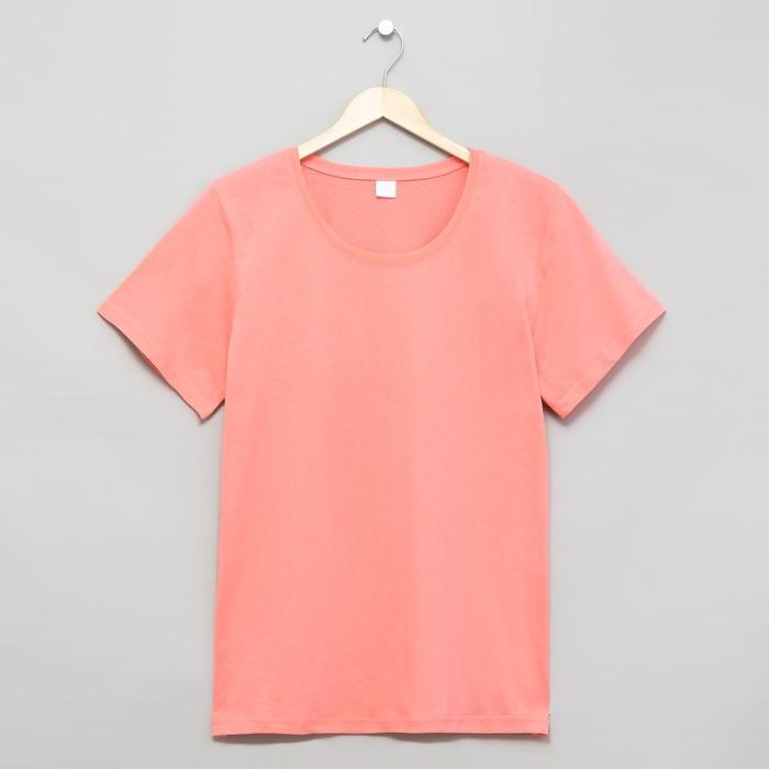 Футболка женская цвет розовый, р-р 46
