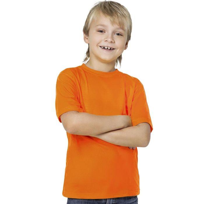Футболка детская StanKids, рост 152 см, цвет оранжевый 150 г/м
