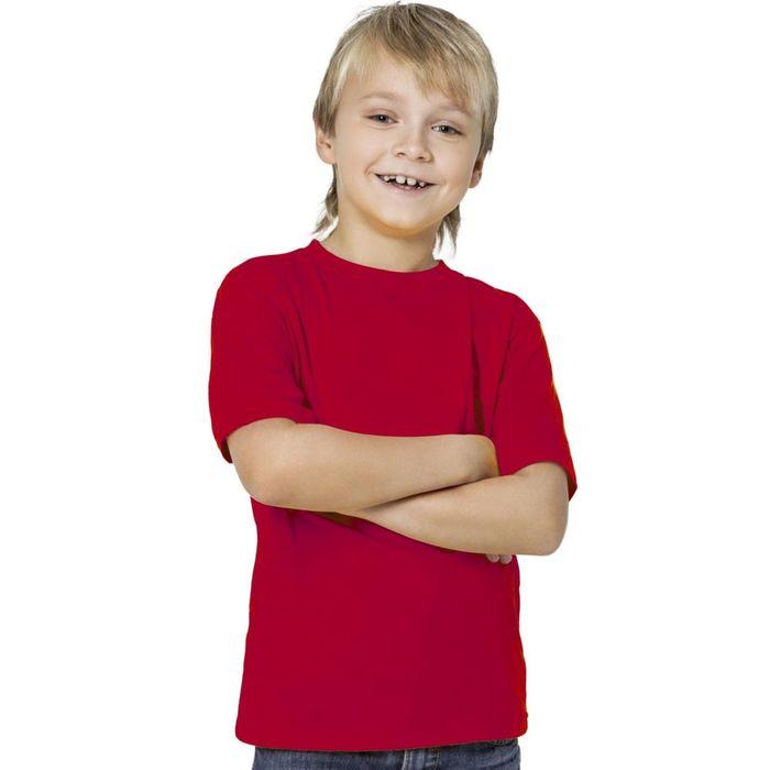 Футболка детская StanKids, рост 164 см, цвет красный 150 г/м