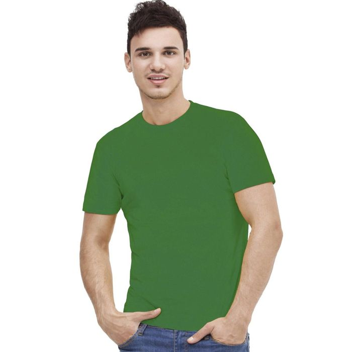 Футболка мужская StanAction, размер 46, цвет зелёный 160 г/м