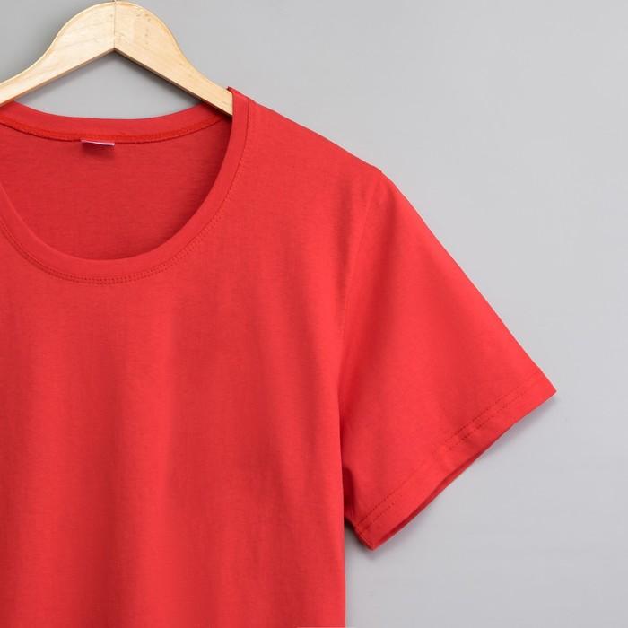 Футболка женская цвет красный, р-р 44