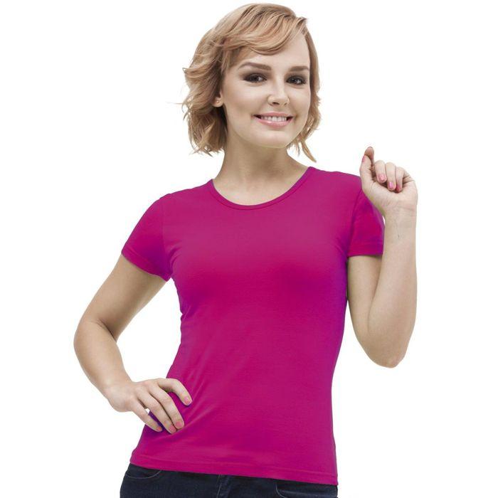 Футболка женская StanGalant, размер 50, цвет маджента 150 г/м