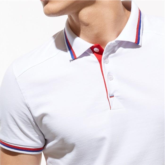 Рубашка-поло StanSalute, размер 54, цвет белый