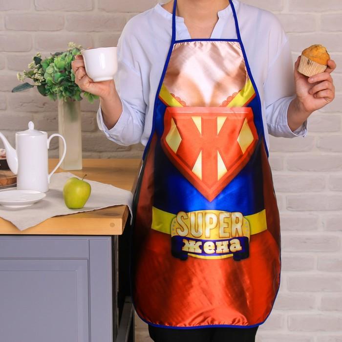 """Фартук """"Super Жена"""""""