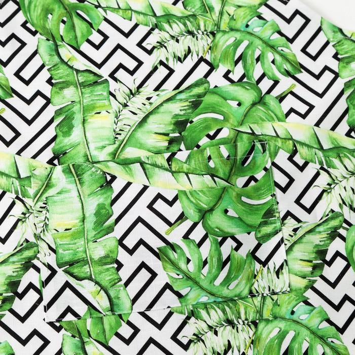 Фартук Этель «Геометрия», 65 × 60 см, репс, 130 г/м², 100%-ный хлопок