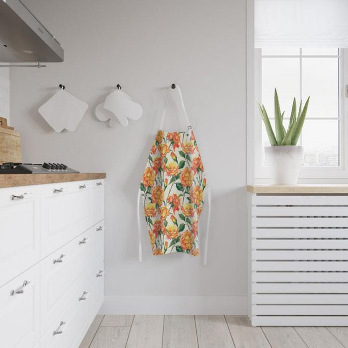 Фартук «Цветочный луг», размер 68 × 65 см, оксфорд