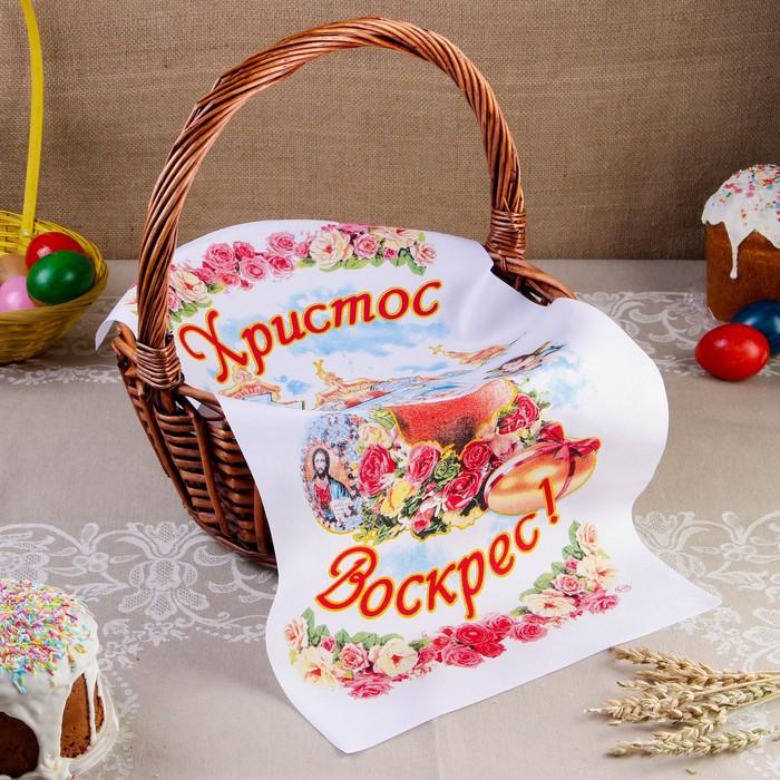 """Рушник пасхальный """"Ангелочки"""", 65 × 30 см"""