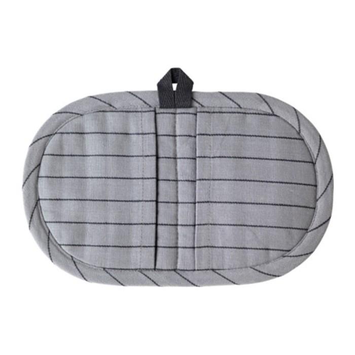 Прихватка ИКЕА/365+, размер 16 × 26 см, цвет серый