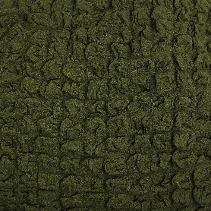 Чехол для мягкой мебели DO&CO  KOSELIK, угловой диван 3-х местный, оливковый, п/э