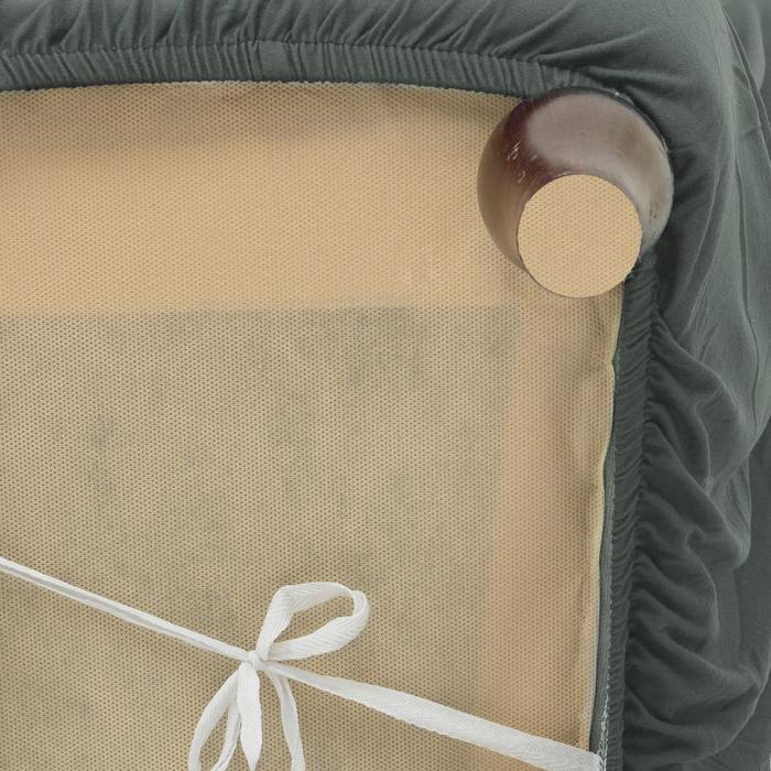 Чехол для мягкой мебели Collorista,2-х местный диван,наволочка 40*40 см в ПОДАРОК,серый