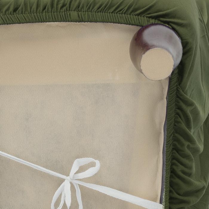 Чехол для мягкой мебели Collorista,2-х местный диван,наволочка 40*40 см в ПОДАРОК,оливковый 248098