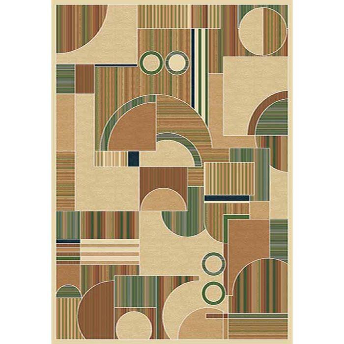 Ковер Heat-set BUHARA d149 0,8*1,4 м, прямоугольный, BEIGE