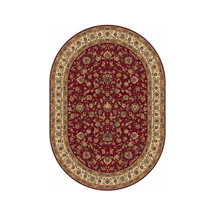 Ковер Heat-set BUHARA 5471, 0,8*1,4 м, овал, RED