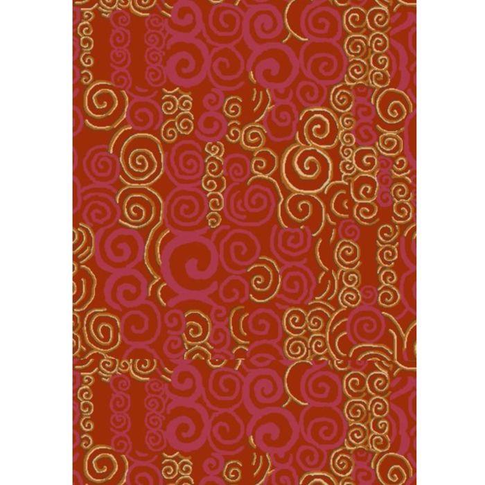 Палас Майя 200х300 см, красный, войлок, 195 г/м2