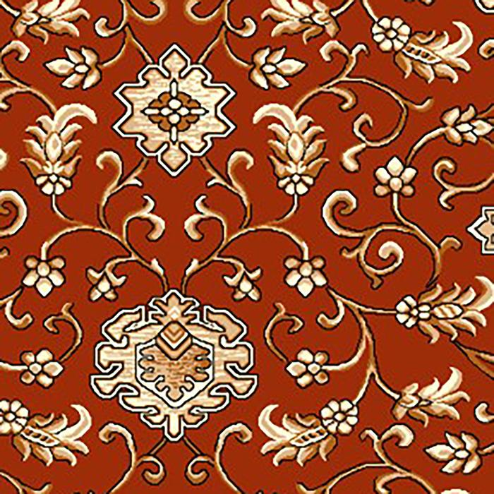 Ковер Бухара, размер 200х300 см, цвет красный, войлок 195 г/м