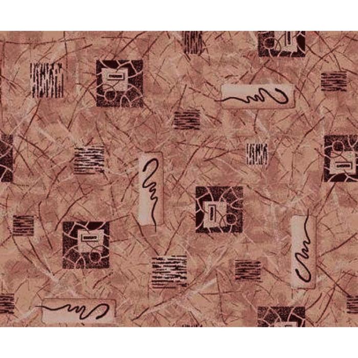 Ковёр Альфа, размер 200х350 см, цвет бежевый, войлок 120 г/м2
