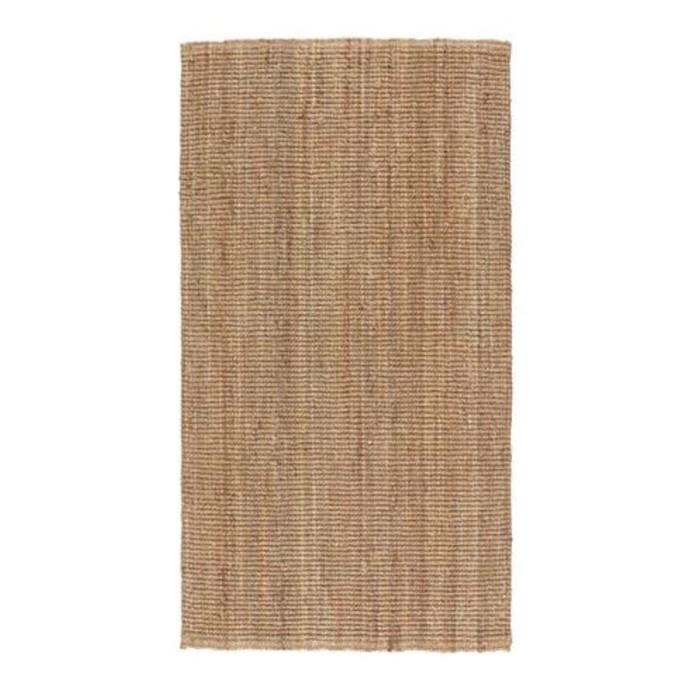Ковёр ЛОХАЛЬС, размер 80х150 см, безворсовый, неокрашенный
