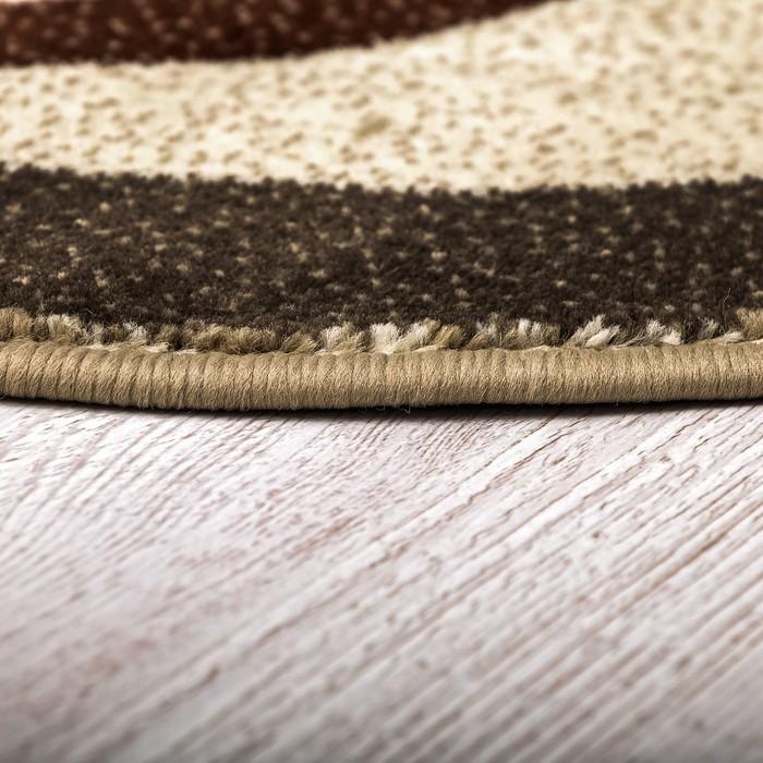 Ковёр «Кашемир», овал 150х230 см, 100% ПП