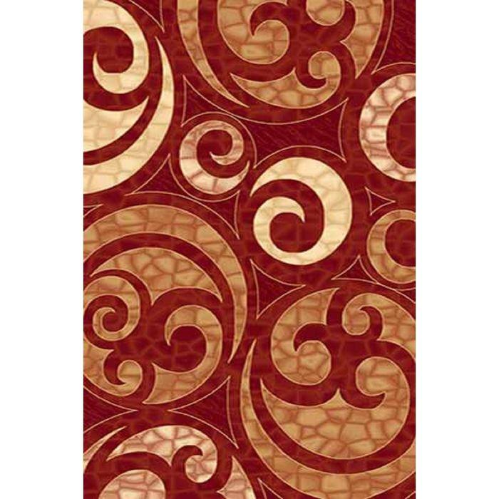 Ковёр Карвинг Хит-сет KAMEA 1068, 1,5*3 м, прямоугольный, RED