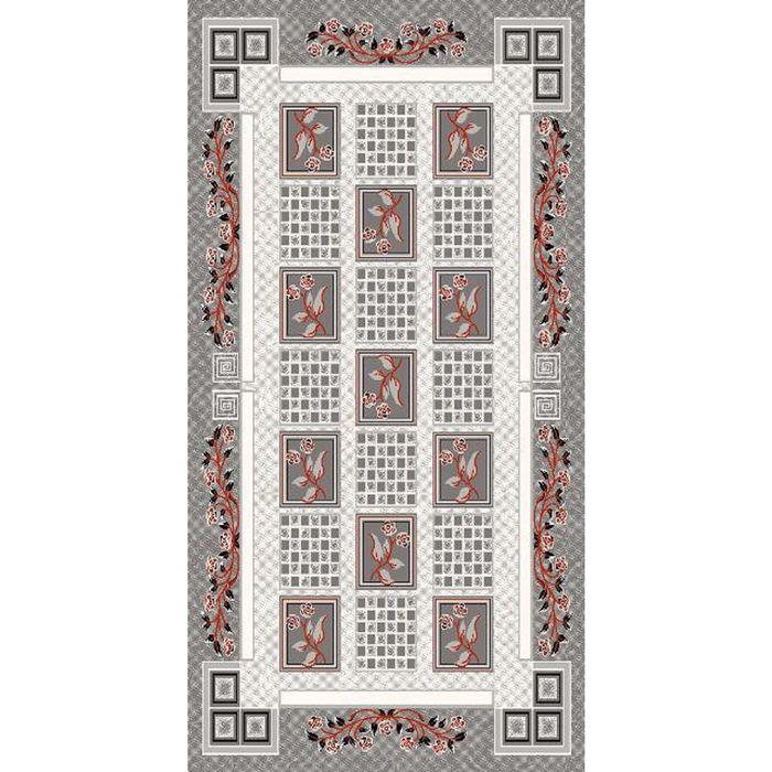 Ковёр DIlber 3055 KEMIK / GRI 1.5*2.33 м, прямоугольный