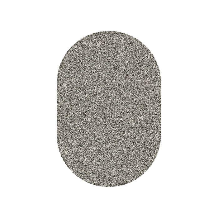 Ковёр Фризе ПП PLATINUM_t600, 1,5*2,3, овал, GRAY-MULTICOLOR MР